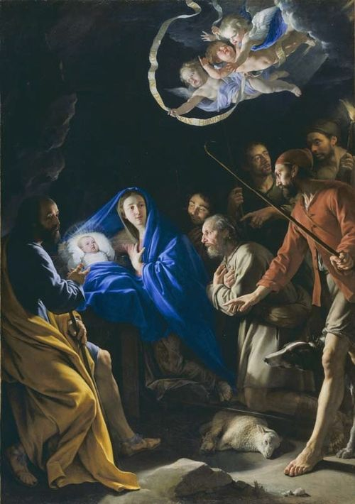 Jesus birth from magnificat
