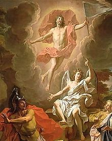 Resurrection noel coypel 1700