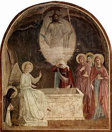 Women at the empty tomb Fra_Angelico_019