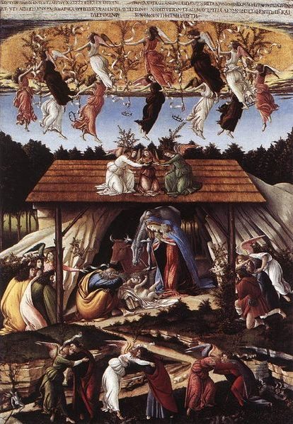 Botticelli Christmas from Malkin