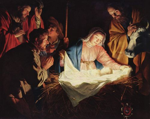 Christmas fmaily and life Gerard_van_Honthorst 2016